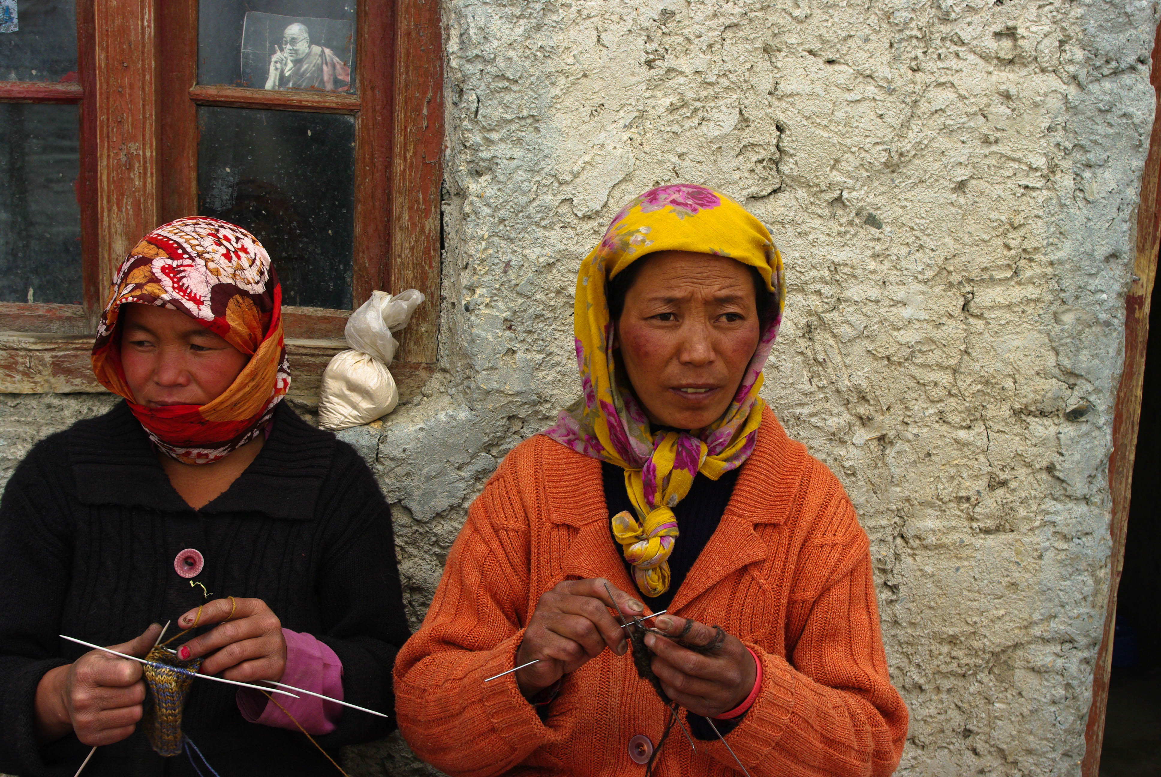 Местные жители в Гималаях