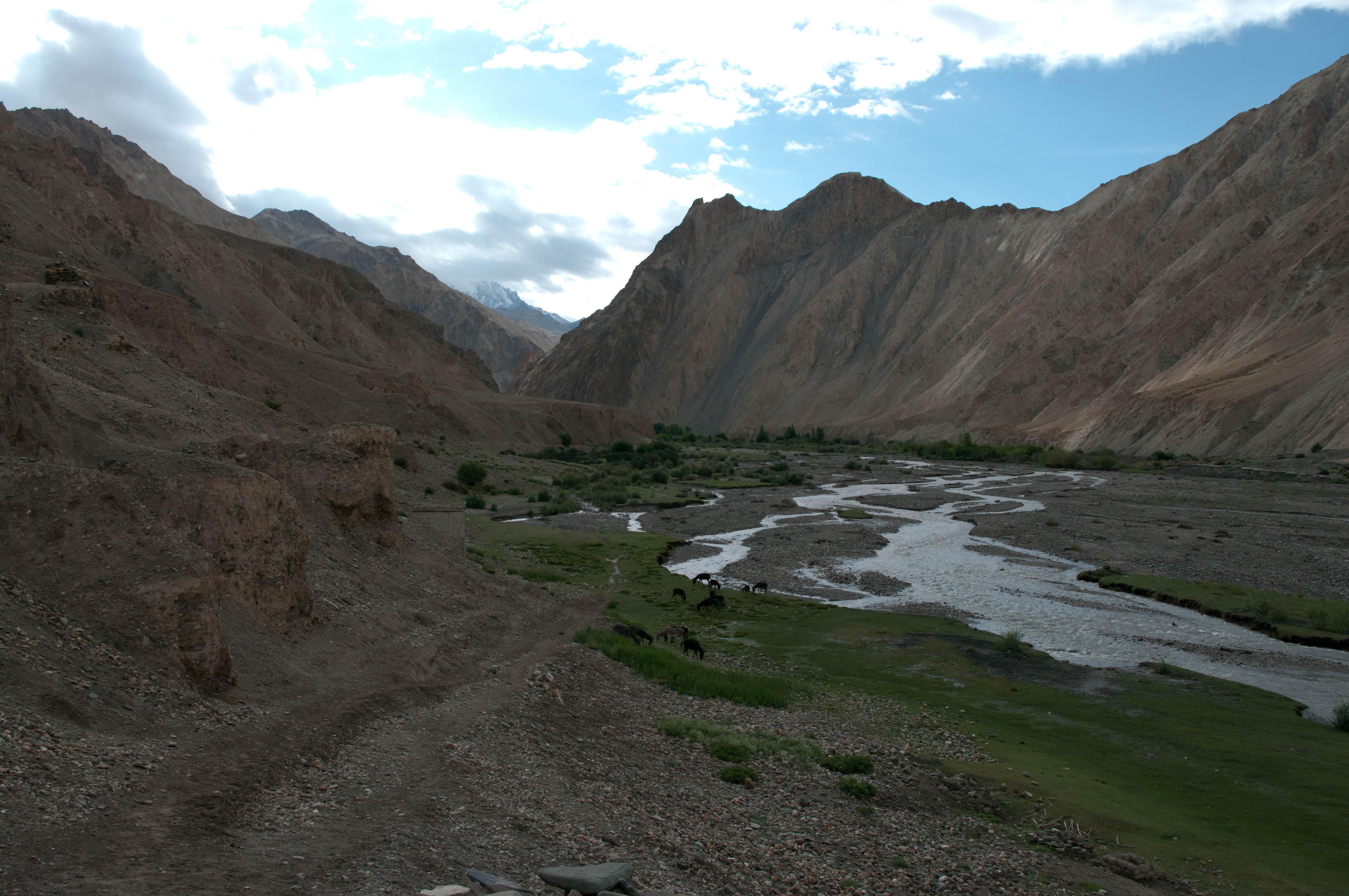 Река меж гор, Гималаи