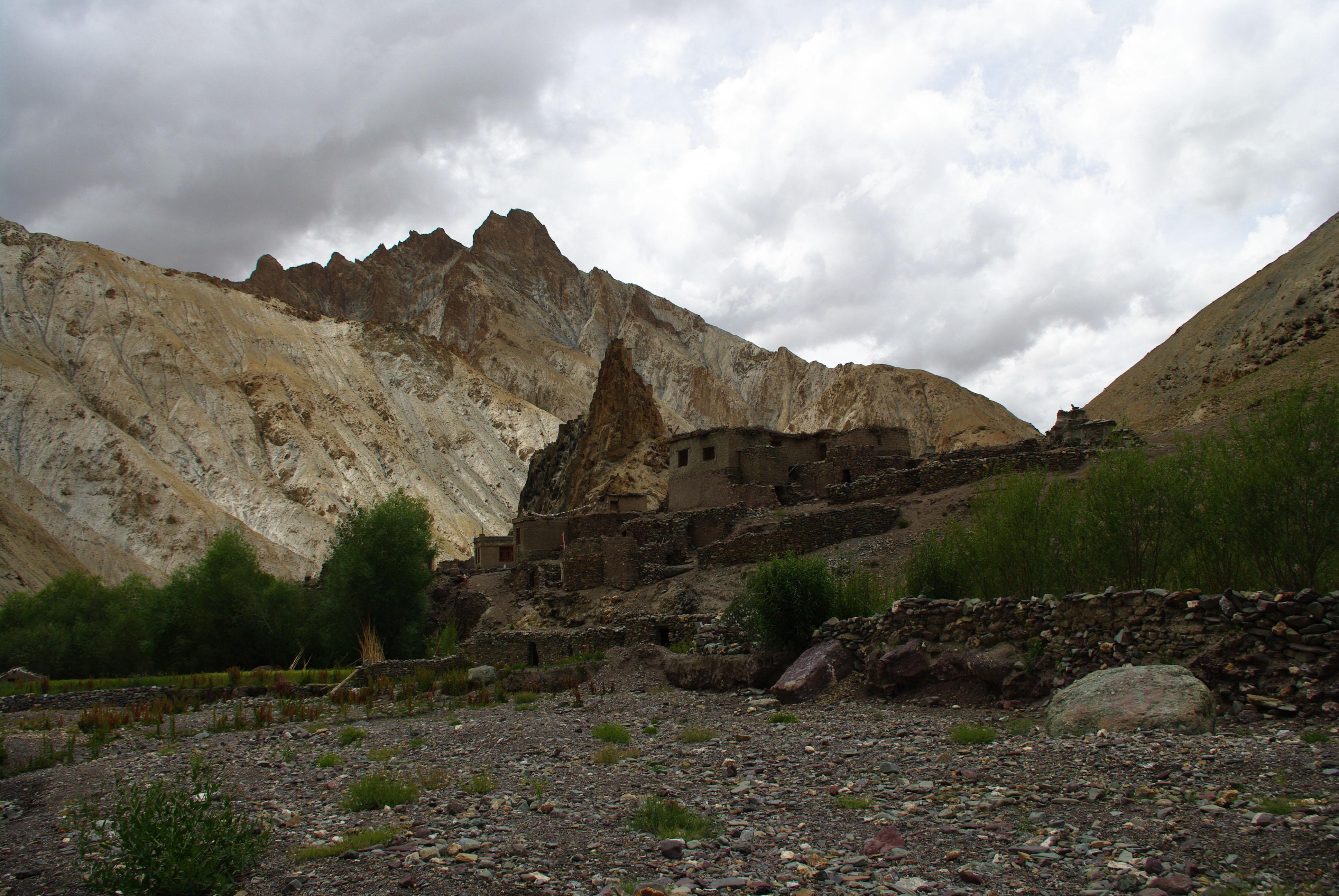 Горная деревня в Гималаях