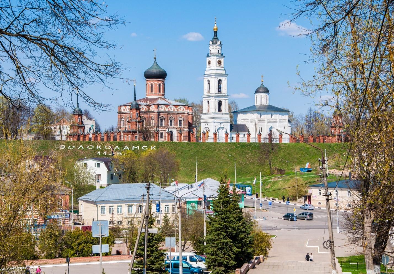 Панорама Волоколамского Кремля