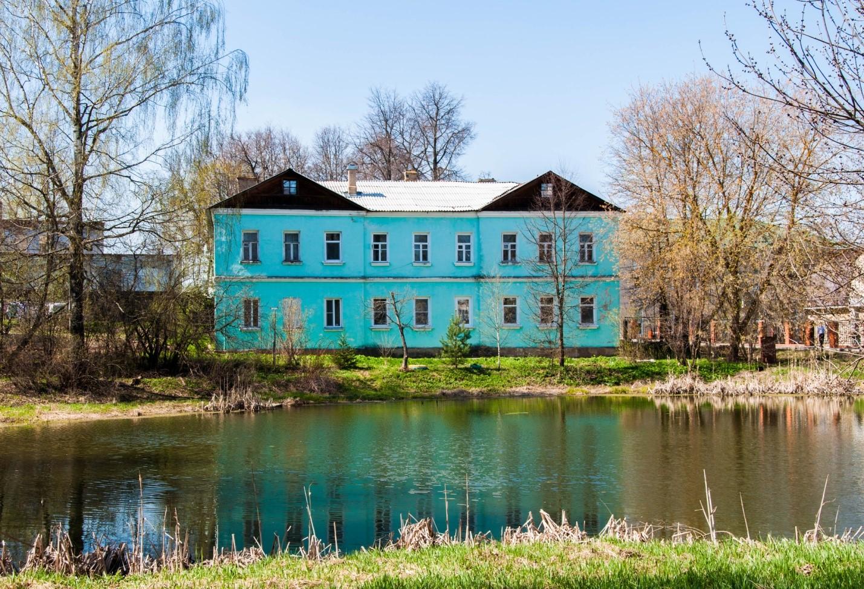 Яркий дом в Волоколамске