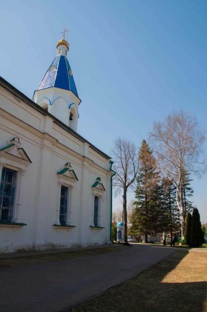 Возмищенский храм, Волоколамск