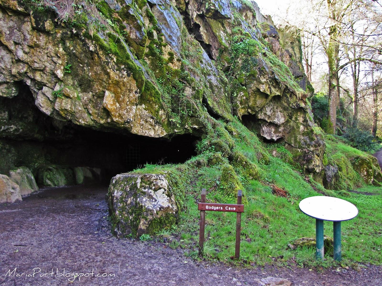 Пещера около замка Бларни, Ирландия