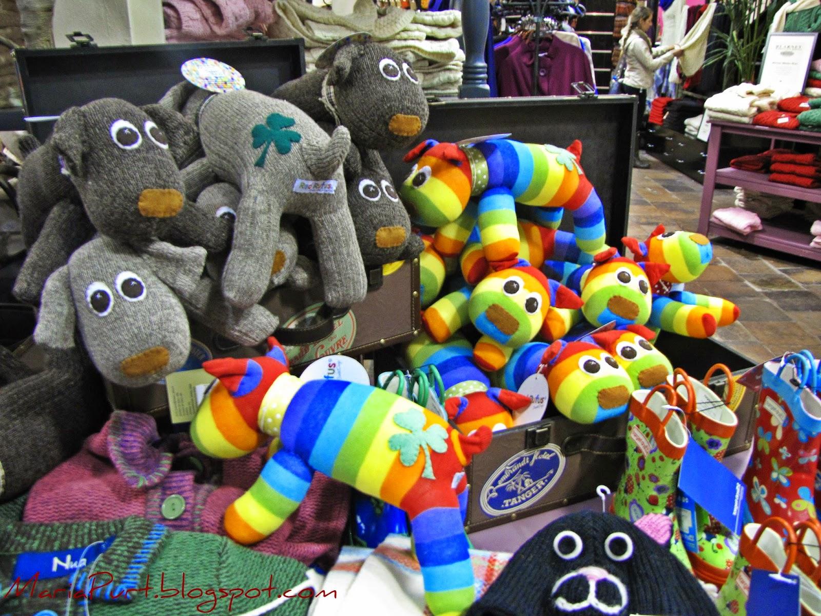 Мягкие игрушки в самом большом Ирландском магазине в мире