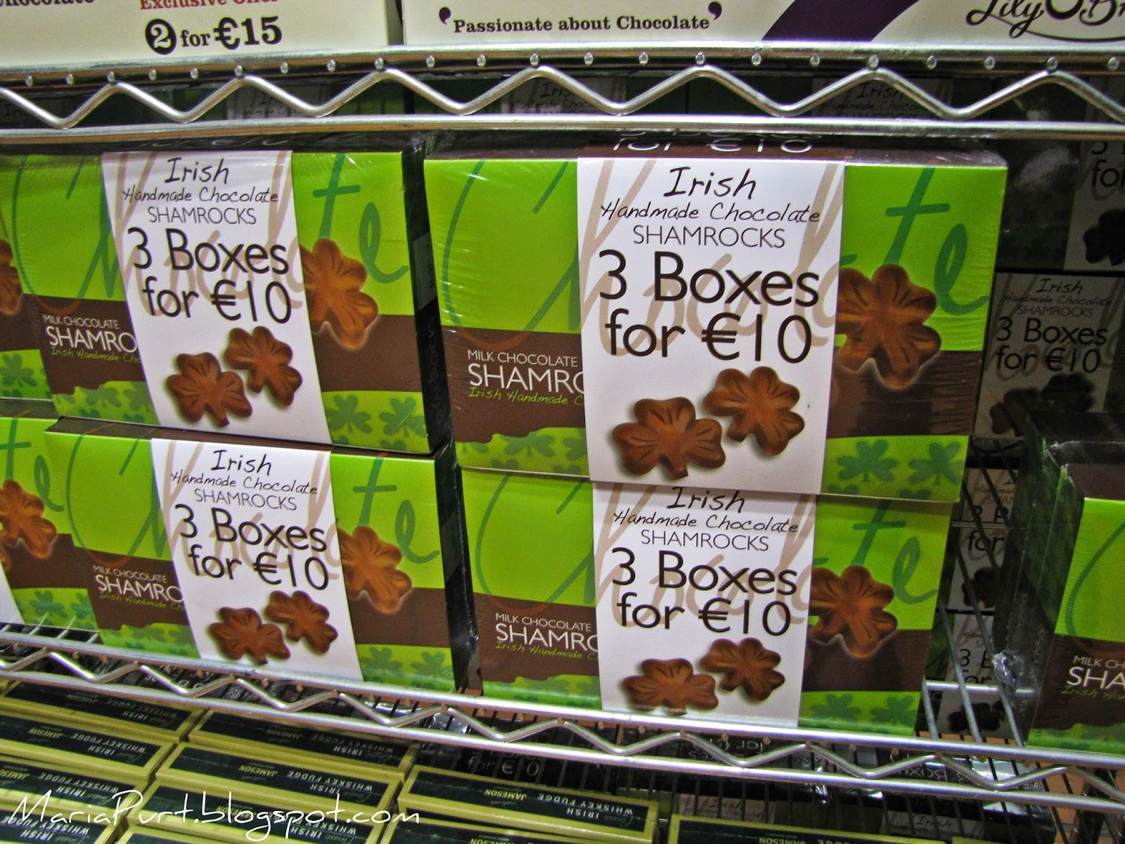 Шоколадный клевер в самом большом Ирландском магазине в мире