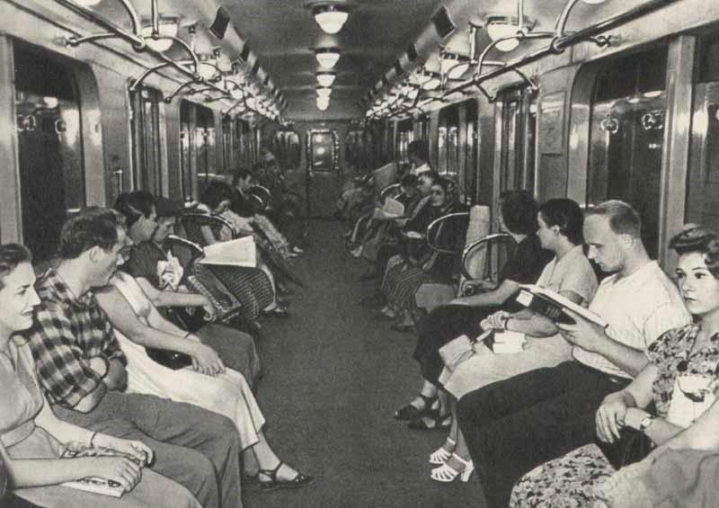 Московское метро 60–80 гг. ХХ века
