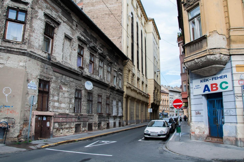Улочка Будапешта