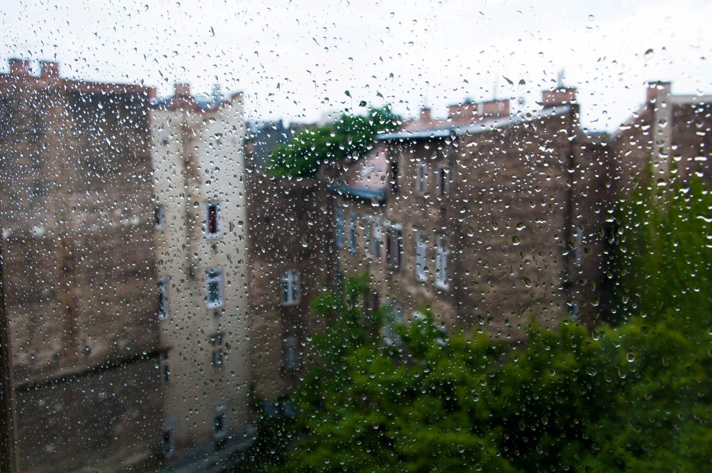 Дождливый Будапешт