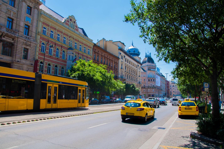 Солнечное утро в Будапеште