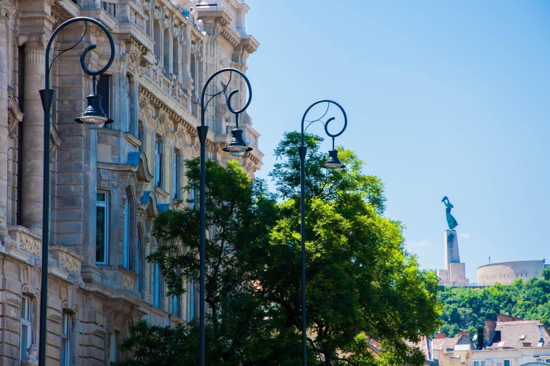 Статуя свободы в Будапеште, гора Геллерт
