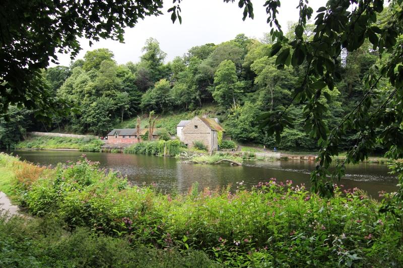 Красивый пейзаж в Дареме, Англия
