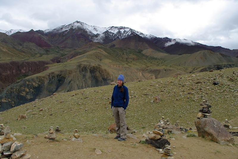 Снежные вершины в Гималаях