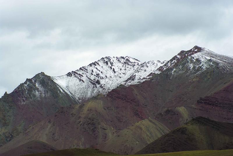 Снежные горы в Гималаях