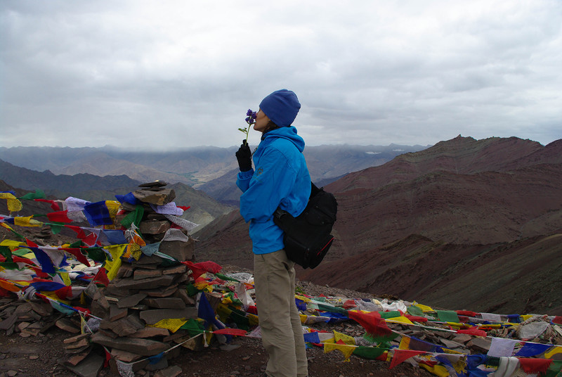 Гималаи, высота 5200 метров, перевал