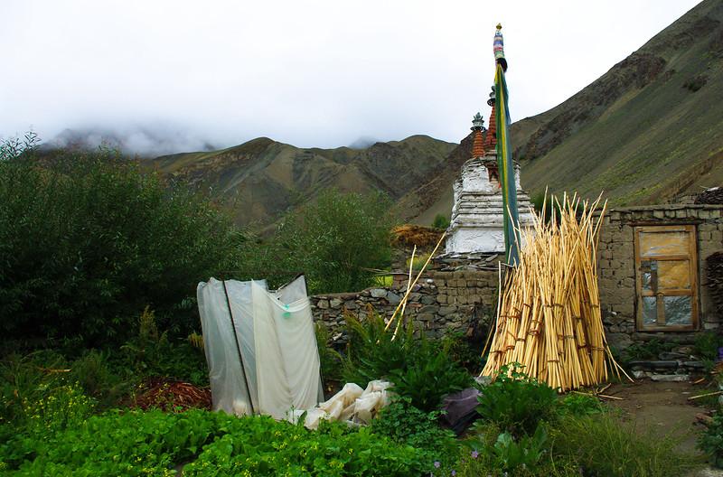 Поселение в Гималаях