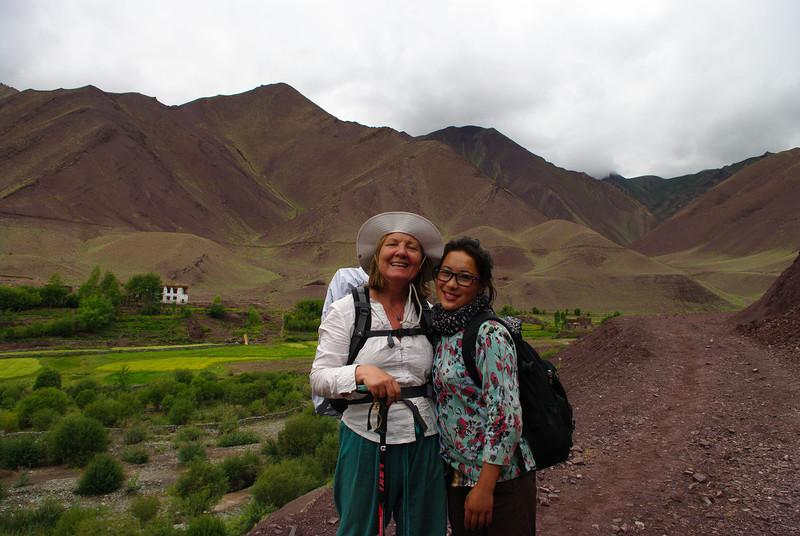 Туристы в Гималаях