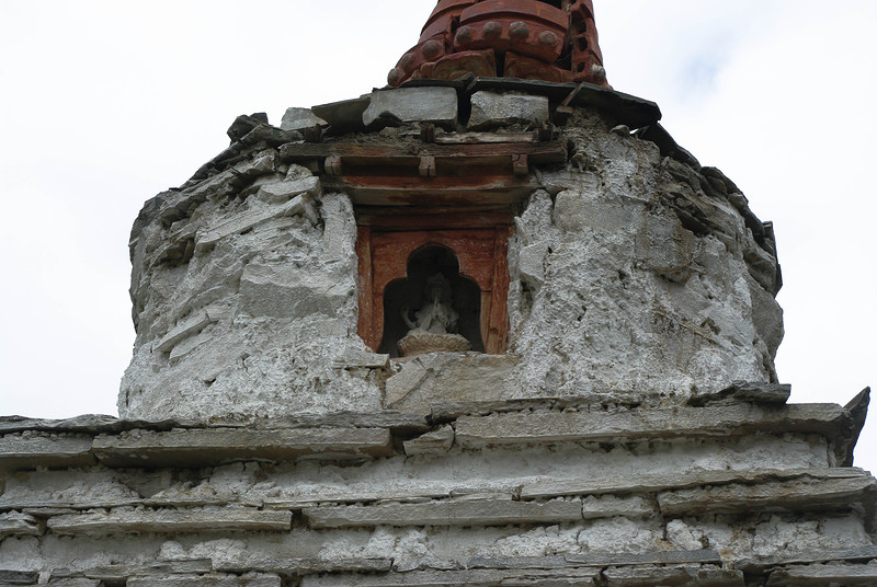 Чортен в Гималаях
