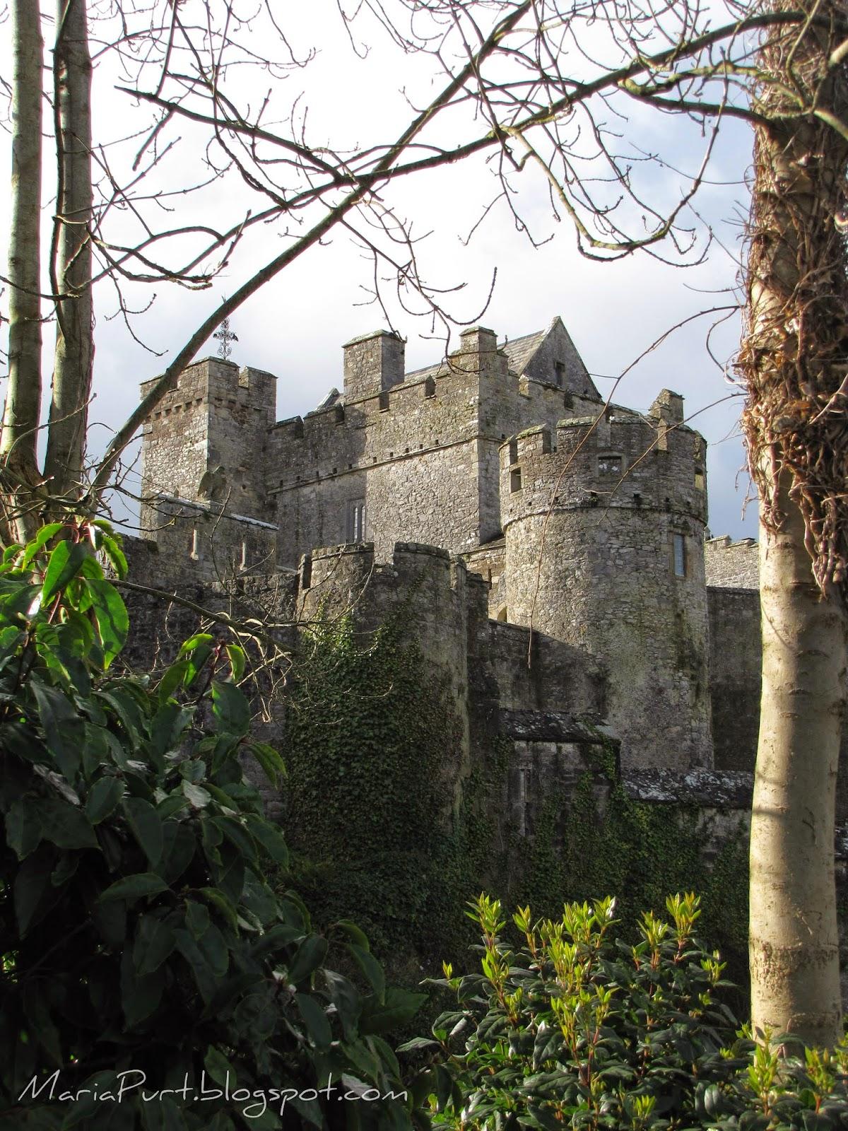 Замок в городе Лимерик, Ирландия
