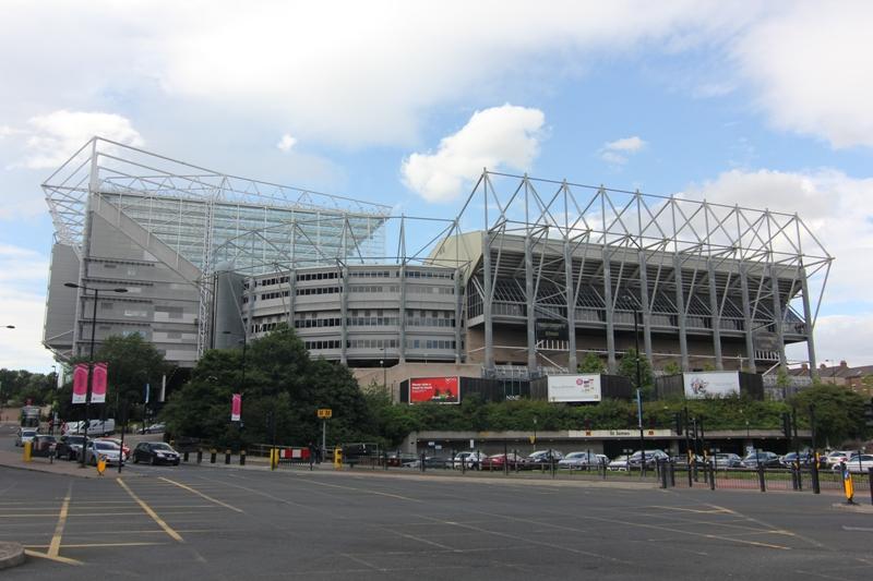 Стадион «Сент-Джеймс-Парк», Ньюкасл, Англия