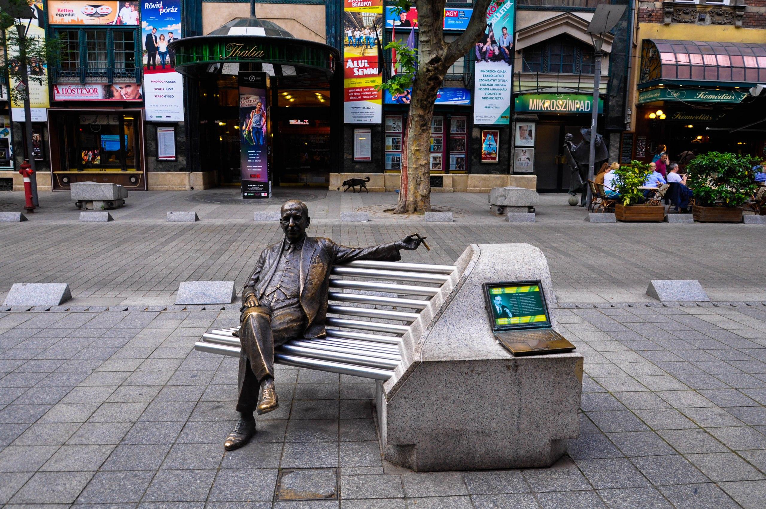 Памятник венгерскому композитору Имре Кальману, Будапешт