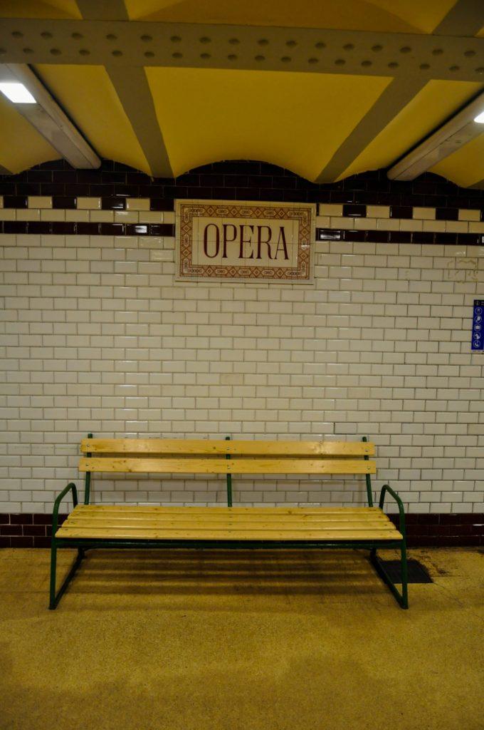 Станция метро Opera в Будапеште