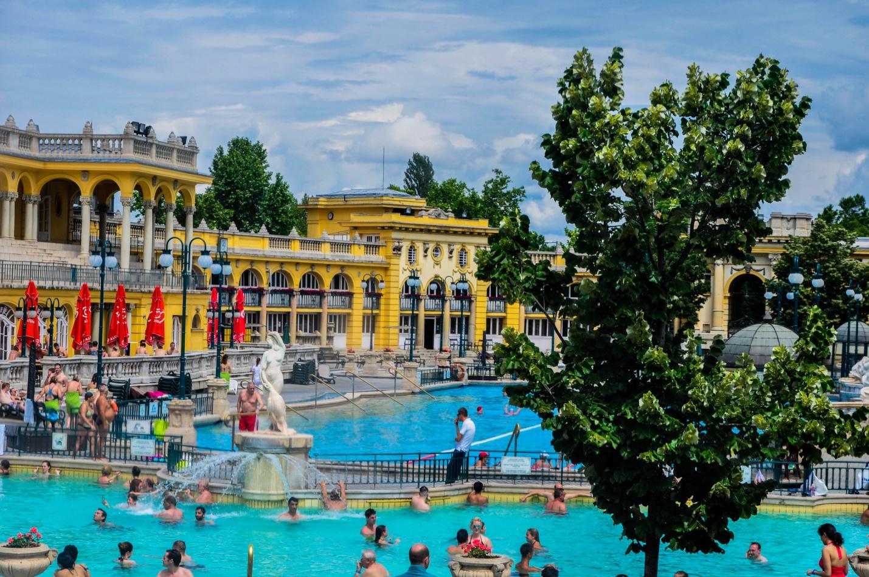 Купальни Сеченьи, Будапешт, Венгрия