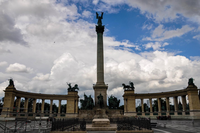 Площадь Героев в Будапеште, Венгрия