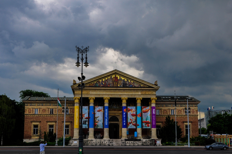 Выставочный зал Мючарнок, Будапешт, Венгрия