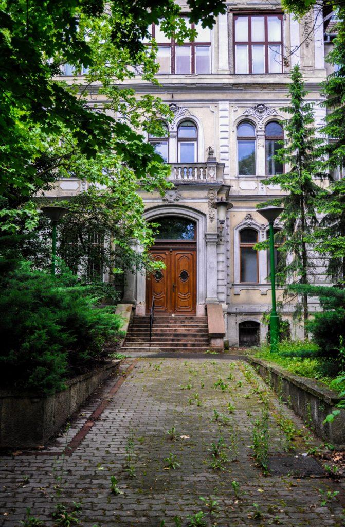 Уютный тихий дворик в Будапеште, Венгрия