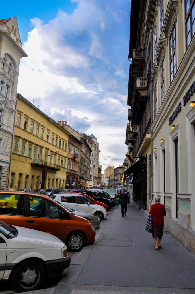 Улица в Будапеште, Венгрия