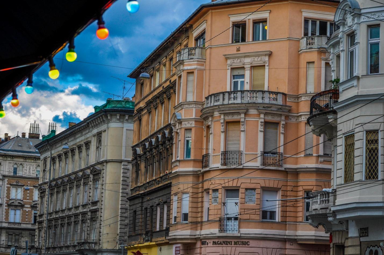 Старые здания в Будапеште, Венгрия