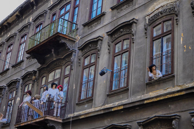 Интересное здание в Будапеште