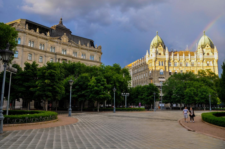 Радуга в Будапеште, Венгрия