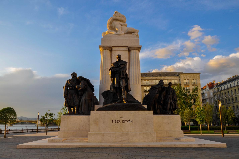 Памятник Иштвану Тисе — политическому деятелю, возглавлявшему правительство Венгрии в 1913–1917 годах