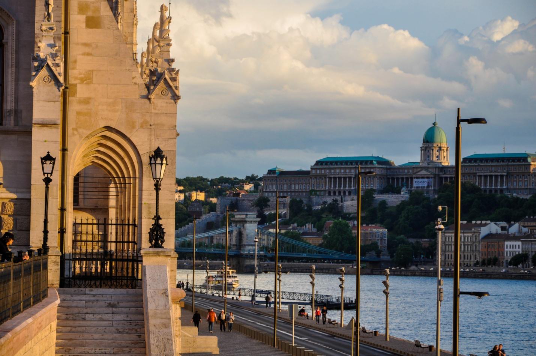 Набережная Будапешта и река Дунай, Венгрия