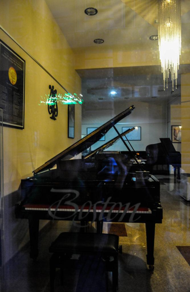 Магазин Роялей Steinway & Sons, Будапешт, Венгрия