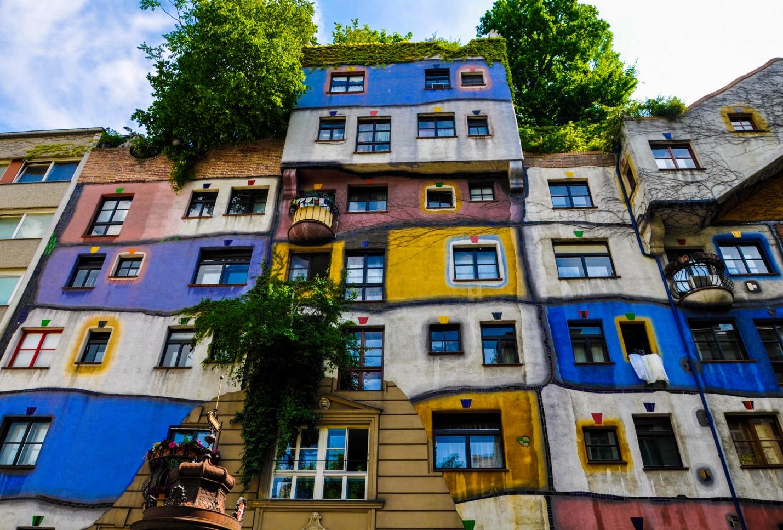 Дом Хундертвассер в Вене, Австрия
