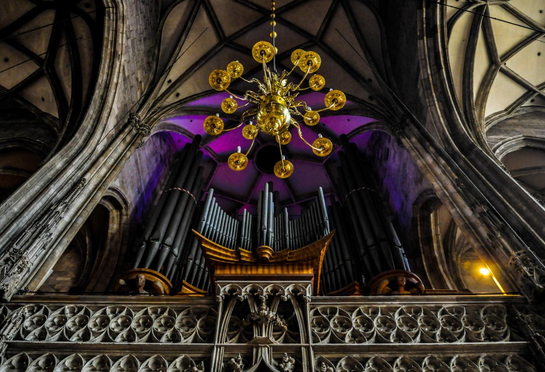 Орган в Соборе Святого Стефана, Вена, Австрия
