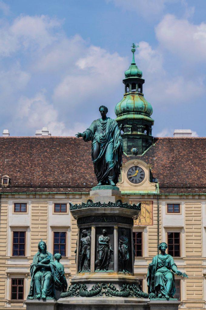 Памятник императору Францу Иосифу I, Вена, Австрия
