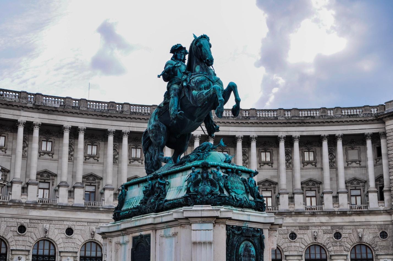 Памятник Евгению Савойскому в Вене, Австрия