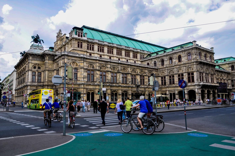 Здание Венской Оперы, Австрия