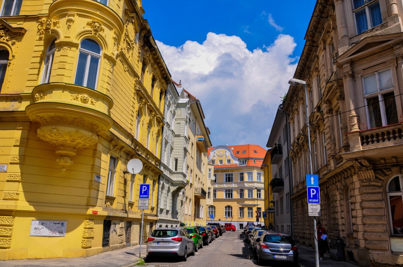 Тихая улочка в Братиславе