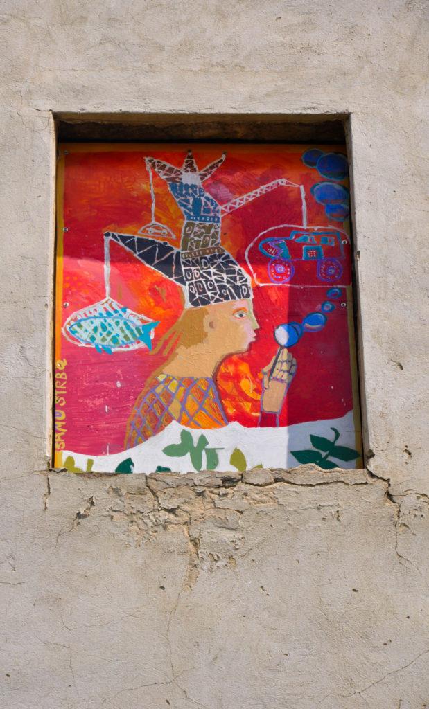 Картина вместо окна, Братислава