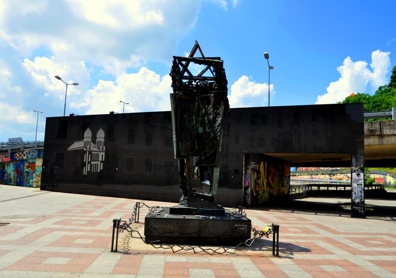 Памятник жертвам Холокоста, Братислава
