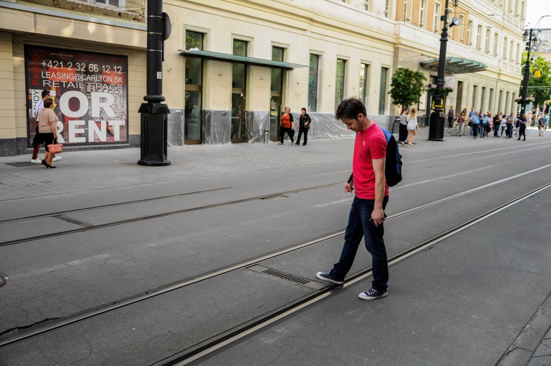 Узкоколейные трамваи в Братиславе