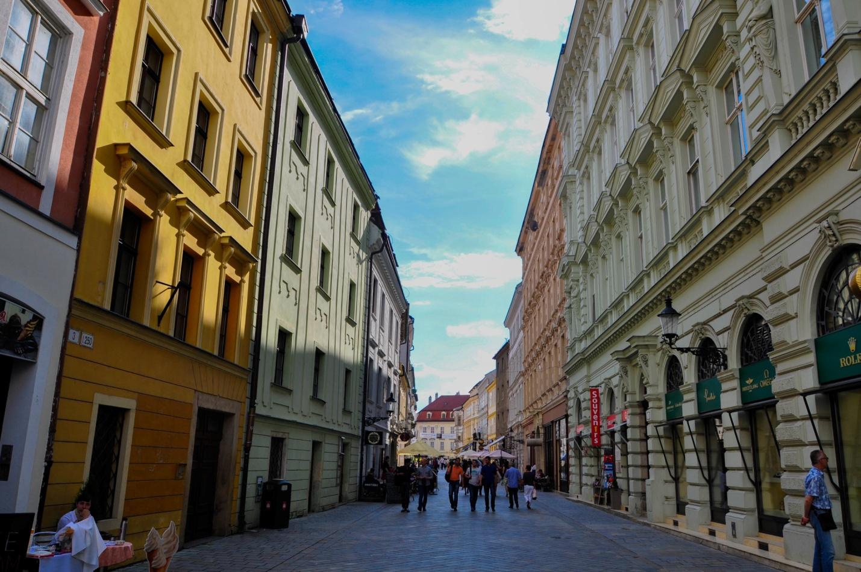 Улицы старого города в Братиславе
