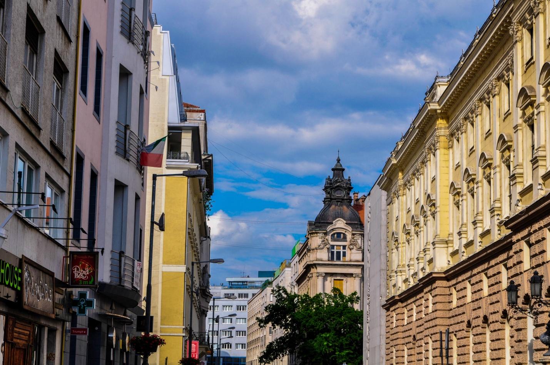 Улица старого города в Братиславе