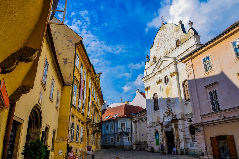 Церковь францисканцев — католическая церковь в старом городе Братиславы