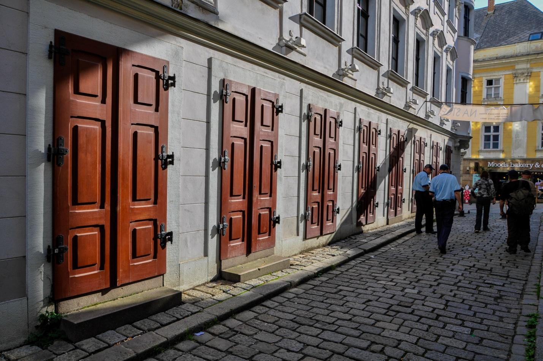 Странное здание в Братиславе