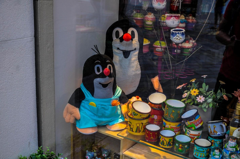 Кротик в сувенирном магазине Братиславы